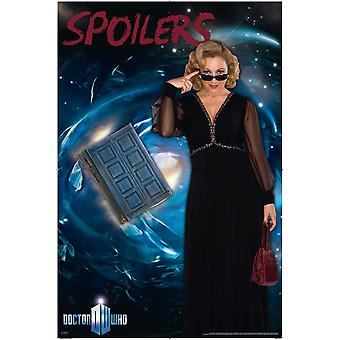 Doctor who poster spoilers River song (Alex Kingston)