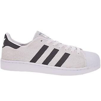 adidas Originals Mens Superstar Casual Lace Up Trainers Sneakers Shoes - White