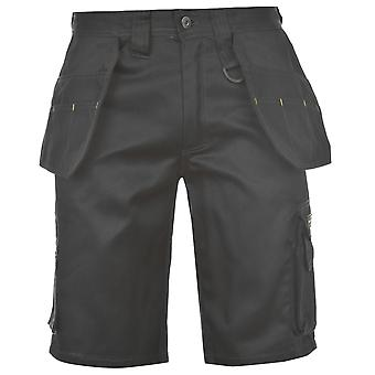 Dunlop Mens On Site Short Safety Trousers Pants Shorts Bottoms Pockets