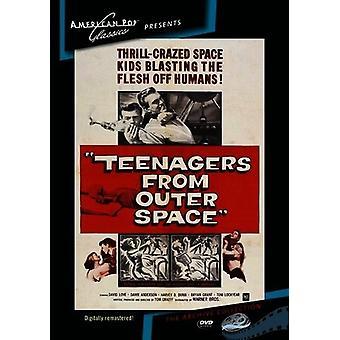 Importación de los E.e.u.u. adolescentes del espacio exterior [DVD]