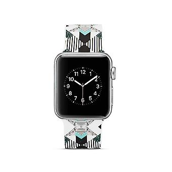 Klockrem de silicone para Apple Watch 4 40 mm, 3/2/1 38 mm-Vertical Stripe