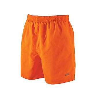 Zoggs Mens Penrith Shorts Orange in Sizes S - XXL Features an Elasticated Waist