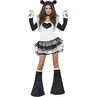 Fever Panda Costume, UK Dress 8-10