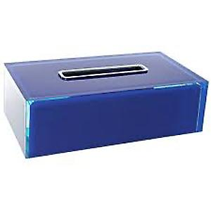 Gedy Rainbow Rectangular Tissue Box Blue RA08 05