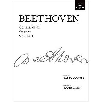 Sonata in E - Op. 14 No. 1 - From Vol. I by Ludwig van Beethoven - Bar