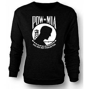 Mens Sweatshirt POW MIA - Not Forgotten