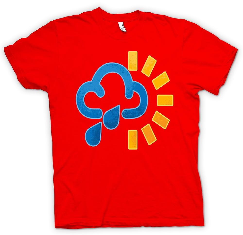 Mens T-shirt - Its Raining - Funny