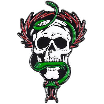 Powell Peralta White Mcgill Skull And Snake Badge