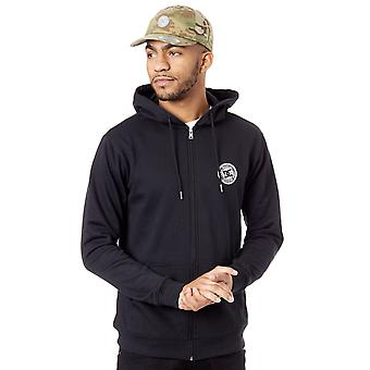 DC svart Rebel Zip Hoody