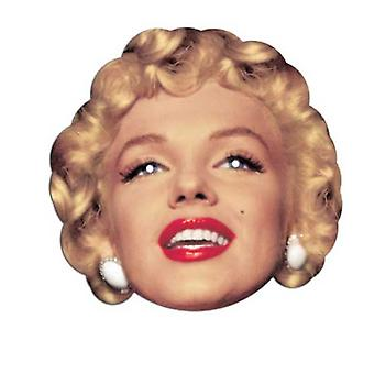 Marilyn Monroe Card Face Mask