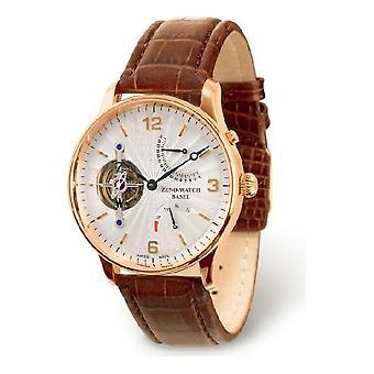 Réserve de marche rétrograde de Zeno-watch Herrenuhr Tourbillon or 18 ct 6791TT-RG-f2