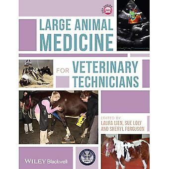 Medicina de animais grande para técnicos veterinários