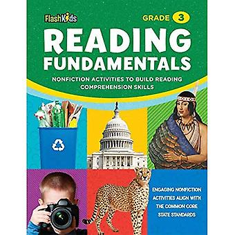 Reading Fundamentals: Grade 3: Nonfiction Activities to Build Reading Comprehension Skills (Flash Kids)