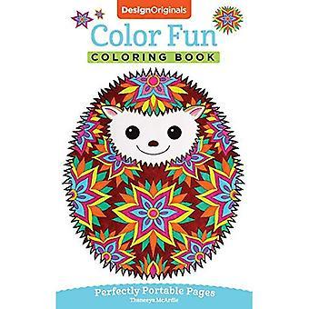 Kleur leuke kleurboek: Perfect draagbare pagina's (On the Go)