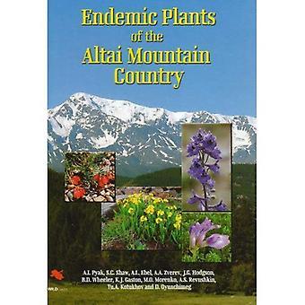 Plantas endémicas do país montanhas de Altai (guias de destino)