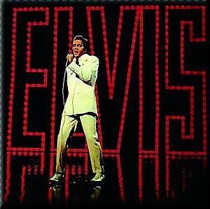 Elvis '68 Special fridge magnet    (ro)