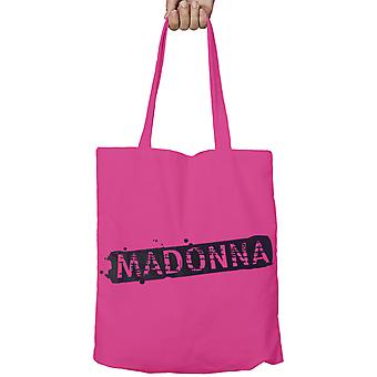 Madonna Tote Bag øko Shopper Bag Logo nye offisielle rosa