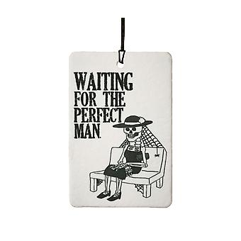 Waiting For The Perfect Man Car Air Freshener