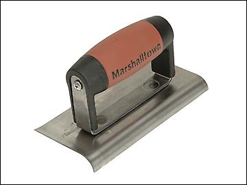 Marshalltown 176D Cement Edger Curved & Straight End Durasoft Handle 6 x 3in