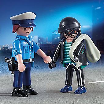 PLAYMOBIL Duo-Pack Polizist und Einbrecher