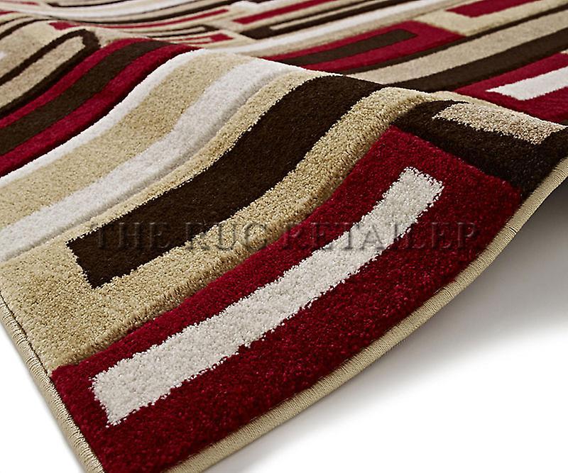 Rugs - Mantra FR40 - Beige & Red