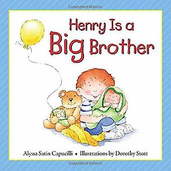 Henry is a Big Brother by Alyssa Satin Capucilli - Dorothy Stott - 97