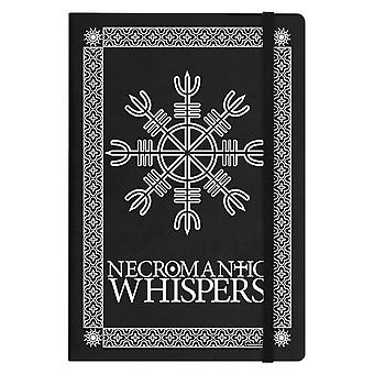Grindstore Necromantic Whispers A5 hård Cover antecknings bok