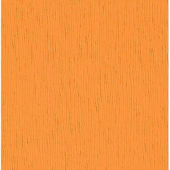 Orange Textured Embossed Wallpaper Modern Simple Plain Luxury Decor Feature