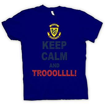 Mens t-shirt - Mantieni la calma e Troll - Troll Hunter