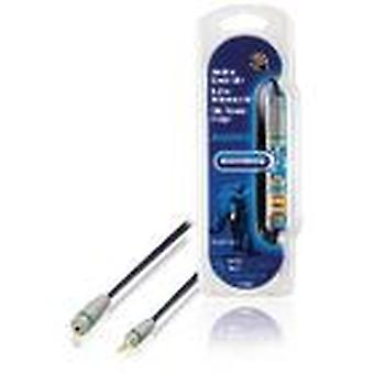 Bandridge Stereo Audio Extension Cable 3.5 mm Male - 3.5 mm Female 5.00 m Blue BAL3605