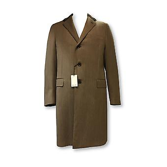 Caruso overcoat in brown