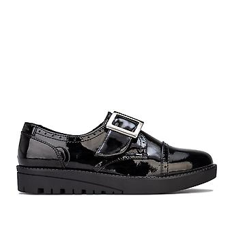 Junior Girls Ben Sherman Carly Patent Shoe in Black