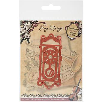 Find It Trading Amy Design Vintage Christmas Die-Old-Fashioned Clock ADD10013
