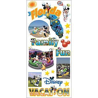 Disney Stickers Borders Packaged Mickey States Florida Pdscb 120