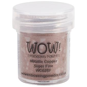 Wow! Embossing Powder Super Fine 15Ml Copper Wow Sf Wc02