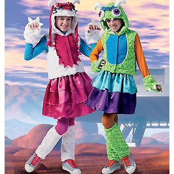 Girls' Girls' Plus Monster Costumes  10.5  12.5  14.5  16.5 Pattern M6816  Pls