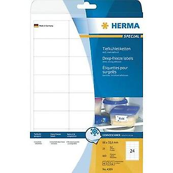 Herma Labels 4389 66X33, 8Mm Tiefkuehl