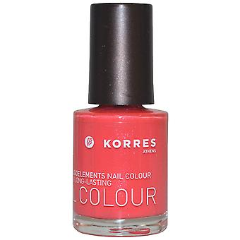 Korres Nail Color hoher Glanz langlebige 10ml Grenadine Pink (#49)