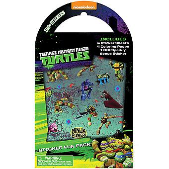 Nickelodeon Sticker Fun Pack-Teenage Mutant Ninja Turtles 8530-6