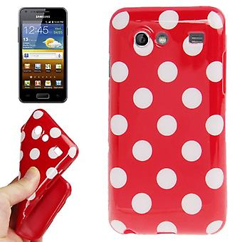 Protective case for mobile Samsung Galaxy S advance i9070 Red