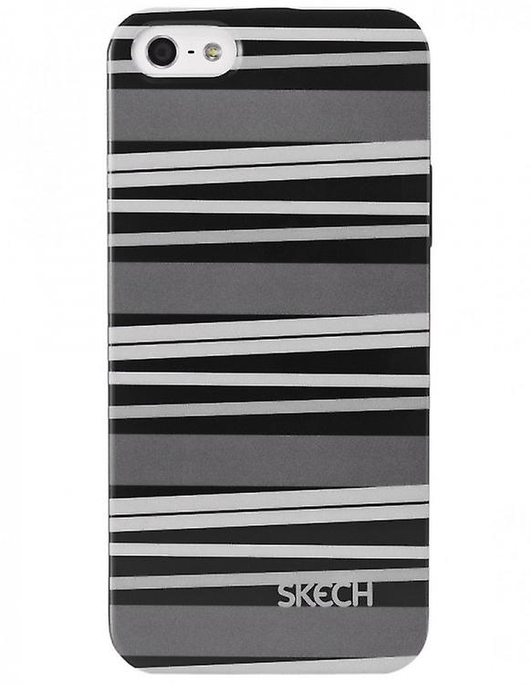 Skech Cases Cover Snap-On Groove Grey for iPhone 5 / 5S