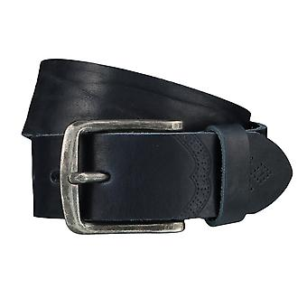LLOYD Men's belt belts men's belts leather belt blue 4025