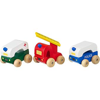 Orange Tree Toys First Emergency Vehicles