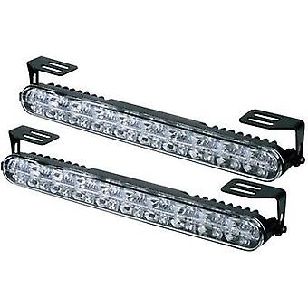 Daytime running lights, Side marker LEDs (W x H x D) 230 x 28 x 35 mm 610790 DINO