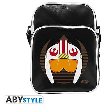 Abysse Star Wars Messenger Bag X-Wing Helmet Vinyl Small Size Hook