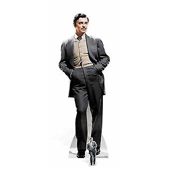 Rhett Butler fra borte med vinden pap påklædningsdukke / Standee / Standup