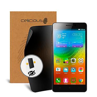 Celicious Privacy Lenovo A7000 Turbo [2-Way] Filter Screen Protector
