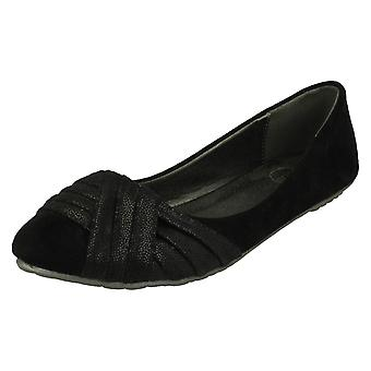 Ladies Spot On Slip On Casual Shoes