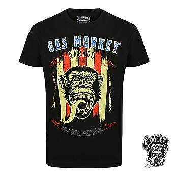 Gas monkey garage T-Shirt hot rod service
