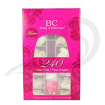 Body Collection Active False Nails 240 Pack